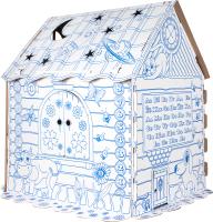 Детский игровой домик Dream Makers Домик для раскрашивания / DOM2C -