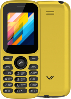 Мобильный телефон Vertex M124 (желтый) -