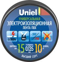 Изолента Uniel UIT-135P 10/15/01 / 04510 -