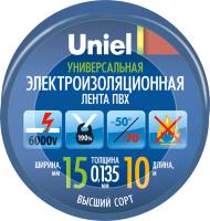 Изолента Uniel UIT-135P 10/15/01 / 04511 -