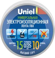 Изолента Uniel UIT-135P 10/15/01 / 04514 -