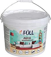 Краска Full Aqua интерьерная (2.5л, белый матовый) -