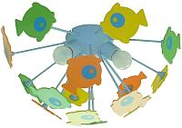 Люстра Citilux Рыбки 1300 -