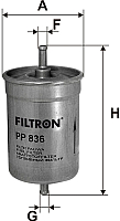Топливный фильтр Filtron PP836 -