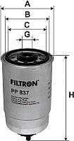 Топливный фильтр Filtron PP837 -