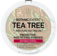 Пудра компактная Eveline Cosmetics Botanic Expert Матирующая антибактериальная №003 Light Beige (9г) -