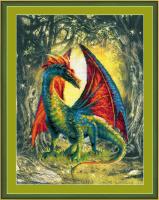 Набор для вышивания Риолис Лесной дракон / РТ-0057 -