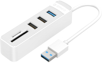USB-хаб Orico TWU32-3AST (белый) -