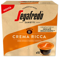 Кофе в капсулах Segafredo Crema Ricca / 401.002.089 (10шт ) -