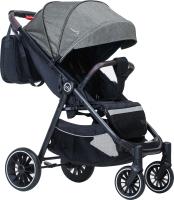 Детская прогулочная коляска Bubago Model Q / BG201 (космический серый) -