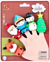 Набор пальчиковых кукол Tang Le Xing Новогодний / TL-22 -