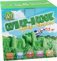 Кинетический песок Инновации для детей Супер-песок / 840 (зеленый) -