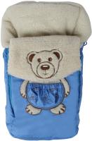 Конверт детский Осьминожка Мишка в штанишках (голубой) -