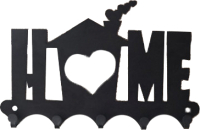 Ключница настенная KN Home (черный) -