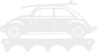 Ключница настенная KN Машина Beetle (белый) -