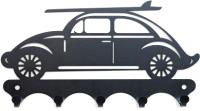 Ключница настенная KN Машина Beetle (черный) -