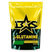 L-глютамин Binasport Порошок (200г, черная смородина) -