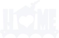 Ключница настенная KN Home (белый) -