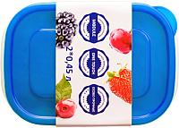 Набор контейнеров Good&Good SREC 2-1 (синий) -