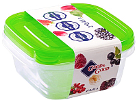 Набор контейнеров Good&Good SSQ 2-1 (зеленый) -