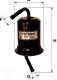 Топливный фильтр Filtron PP949 -