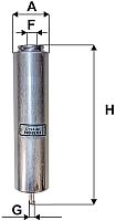 Топливный фильтр Filtron PP976/2 -