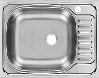 Мойка кухонная Ukinox CLM560.435 T6K 2L (левая) -