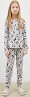Пижама детская Mark Formelle 567722 (р.122-60, пингвины на сером) -