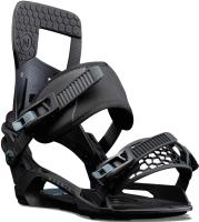 Крепления для сноуборда Nidecker 2021-22 Muon X (L, черный) -