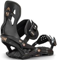 Крепления для сноуборда Now Snowboards 2021-22 Pilot (M, черный) -