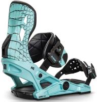 Крепления для сноуборда Now Snowboards 2021-22 Conda (S, бирюзовый) -