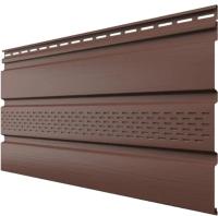 Софит для крыши Технониколь С частичной перфорацией 697205 (3м, каштан) -