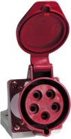 Розетка кабельная ETP 125 3Р+РЕ+N 32А 380В ip44 -