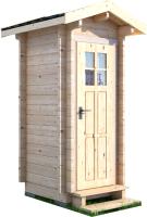 Хозблок деревянный Лесково ХБ 1.2x1.2 -