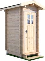 Хозблок деревянный Лесково ХБ 1.3x1.5 -