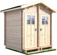 Хозблок деревянный Лесково ХБ 2.5x2.0 -