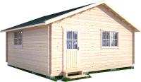 Дачный дом Лесково ДС 6.0x6.0 -