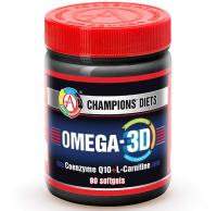 Жирные кислоты Академия-Т Omega-3D (90 капсул) -