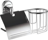 Держатель для туалетной бумаги Fashun A1903-1 (с держателем для освежителя) -