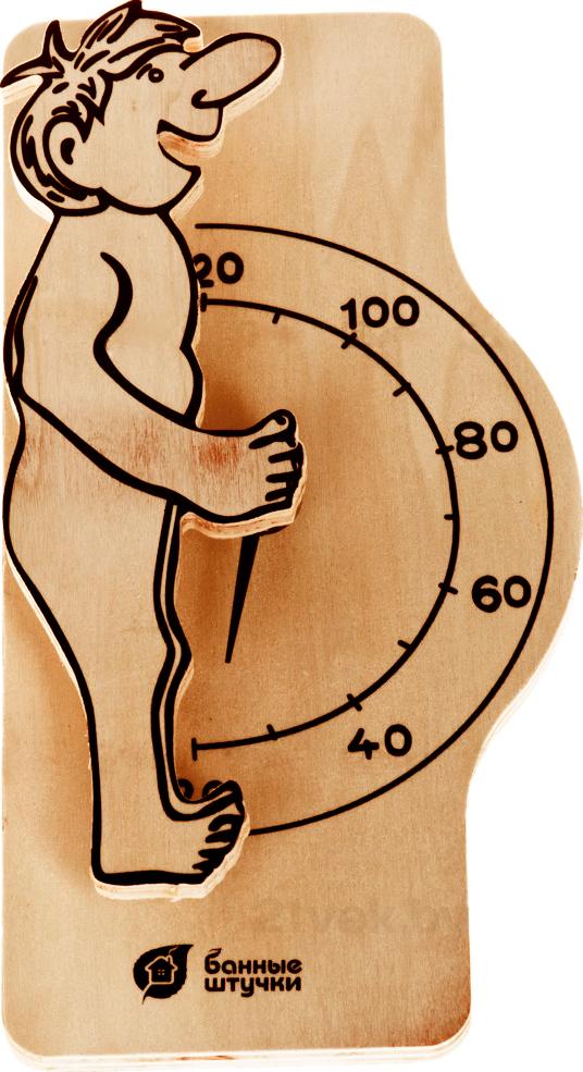 Купить Термометр для бани Банные Штучки, Банщик (18006), Россия, дерево