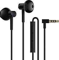 Наушники-гарнитура Xiaomi Dual Driver Earphones / ZBW4407TY (черный) -