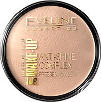 Пудра компактная Eveline Cosmetics Anti Shine Complex Pressed Powder тон 34 medium beige (14г) -