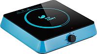 Электрическая настольная плита Kitfort KT-113-1 (голубой) -