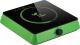 Электрическая настольная плита Kitfort KT-113-2 (зеленый) -