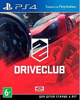 Игра для игровой консоли Sony PlayStation 4 Driveclub -