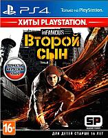 Игра для игровой консоли Sony PlayStation 4 inFAMOUS: Второй сын (Хиты PlayStation) -