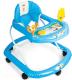 Ходунки Alis Солнышко 801B с силиконовыми колесами (синий) -