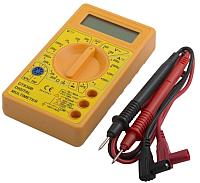 Мультиметр цифровой Electraline 59002 (желтый) -