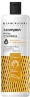 Шампунь для волос DermoFuture Daily Care с кератином и аргановым маслом (380мл) -
