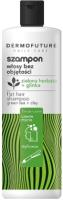 Шампунь для волос DermoFuture Daily Care с зеленым чаем и глиной (380мл) -